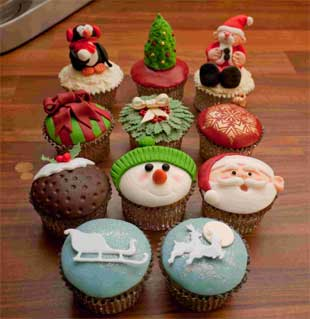 Get Into The Festive Spirit With Christmas Cupcakes Bournemouth Echo