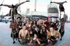 YOU DON'T HAVE TO BE MAD TO WORK HERE: The Circus of Horrors gang