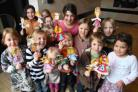 THAT'S THE WAY: Children enjoy  the puppet workshop at Lighthouse, Poole
