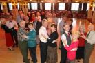 Couples take to the floor  for some ballroom dancing at the Pavilion Ballroom in Bournemouth
