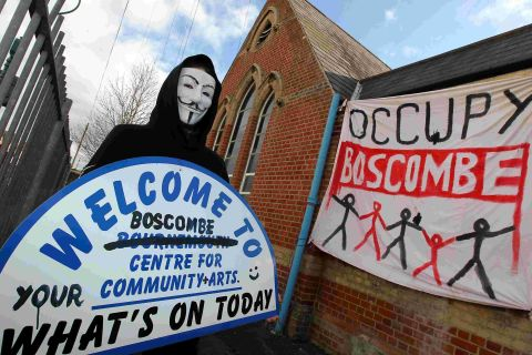 Council to evict Occupy Boscombe from BCCA