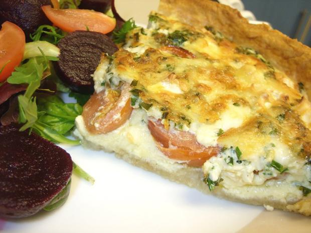Bournemouth Echo: Brie and Tomato tart