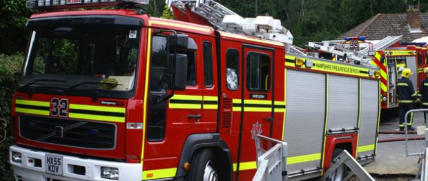 Firefighters called after woman gets arm stuck in lift