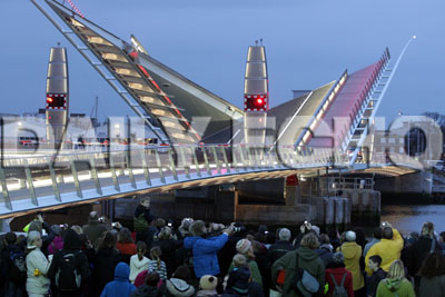 Poole parties for Twin Sails Bridge - updated