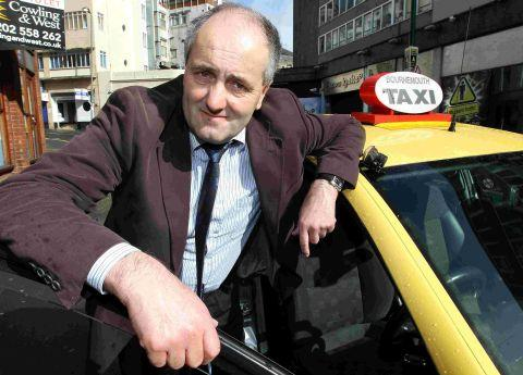 United Taxi boss Derek Heritage at the site of the old taxi rank on Fir Vale Road
