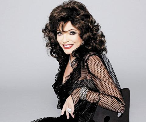 Joan Collins: for one night only
