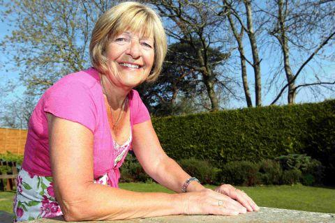 GENEROUS DONATION: Sylvia Chenery has donated more than 78 pints of blood and had to have a life-saving blood transfusion herself last year