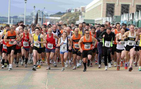 EASTER BONANZA: The Rotary Easter Quarter Marathon kicks off at Boscombe seafront