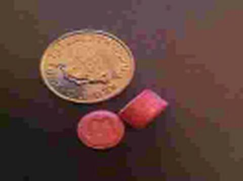 The pills are believed to look like these