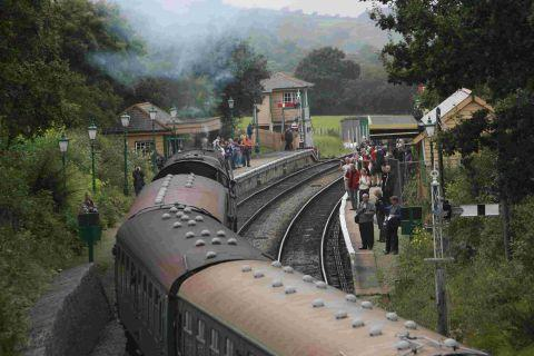 Swanage-Wareham rail line reconnection 'a success'