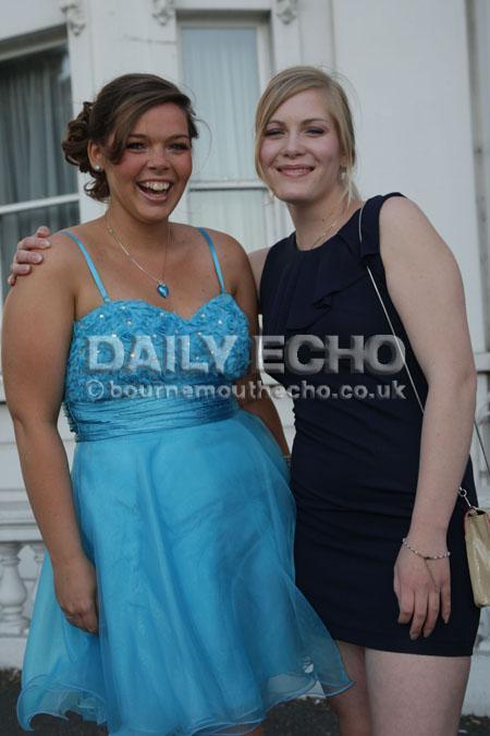 Twynham 6th form prom at the Royal Bath Hotel in Bournemouth