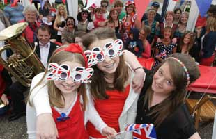 Wykeham Close street party to mark the Queen's Diamond Jubilee