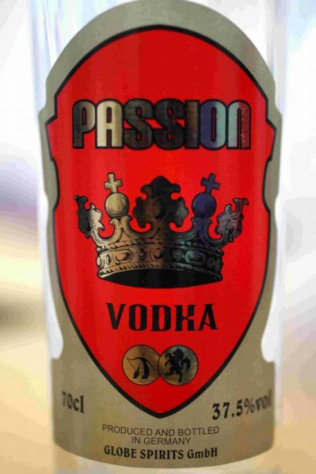 ILLEGAL ALCOHOL: One of the fake vodka brands discovered during a raid on a number of convenience stores in the Bournemouth area