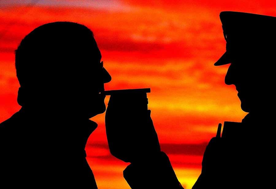 87 charged in drink drive crackdown