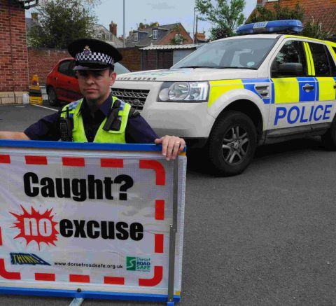 PC Brian Puttock will be part of the No Excuse blitz across west D