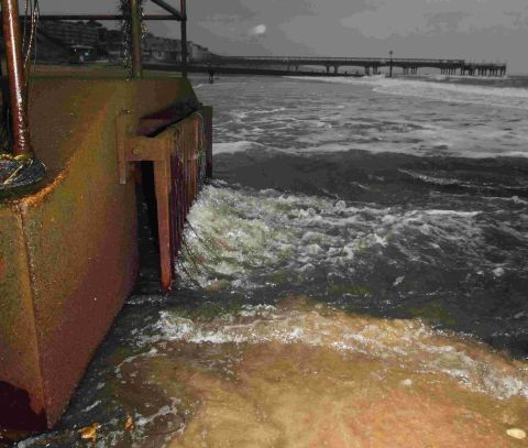Fury as raw sewage discharged into Bournemouth's blue flag waters