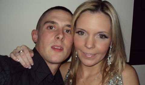 Matthew Cottrell and fiancee Debbie Smith