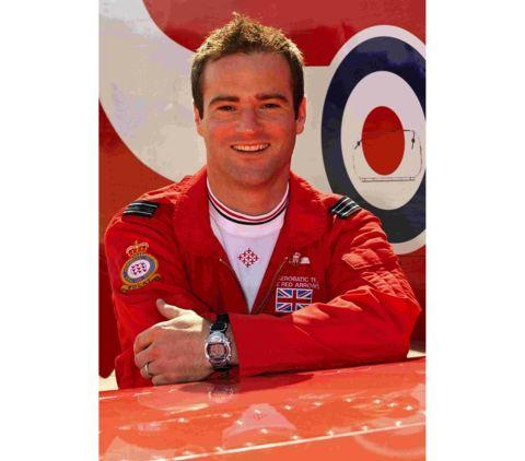 Bournemouth Echo: Flight Lieutenant Jon Egging