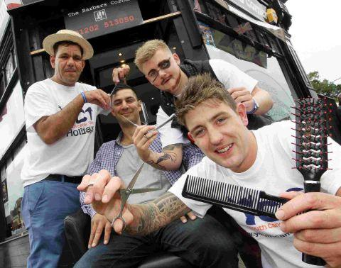Charminster Barbers World Record Attempt For The Number Of Gents