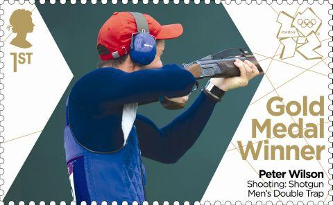The Royal Mail commemorative stamp