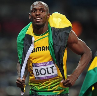 Usain Bolt claimed gold in the 200m on Thursday