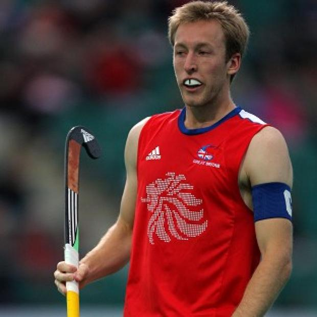Barry Middleton was on the field as Great Britain took on Australia