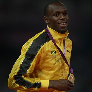 Usain Bolt is looking to take up the long jump