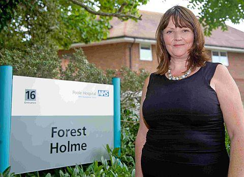 ON A MISSION: Diane Platt at Forest Holme specialist palliative care unit