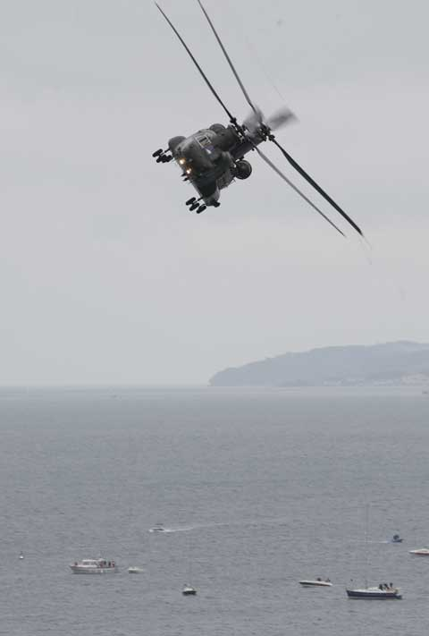 Chinook. Picture: Corin Messer. Bournemouth Air Festival 2012.