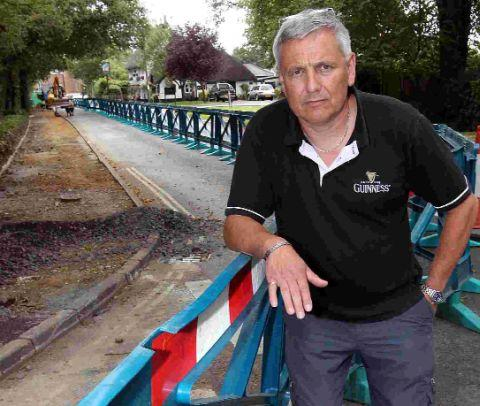 UNIMPRESSED: Three Tuns pub owner Nigel Glenister