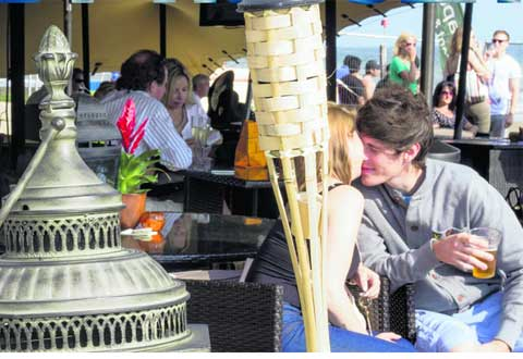 Koh Lounge by the sea proves a hit