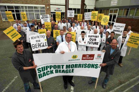 Staff at Beagle Technology Group supporting the plans