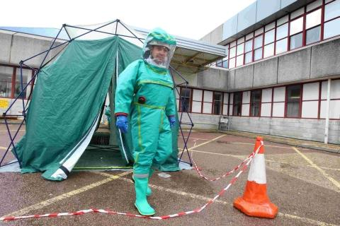 Hospital tests out £200,000 of disaster response equipment