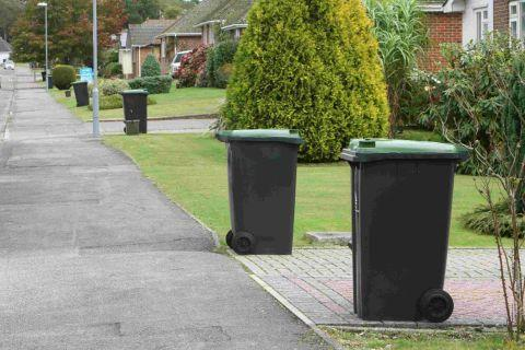 New chipped wheelie bins in Highcliffe