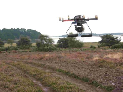 Not a UFO - camera helps TV viewers get close to Arne wildlife