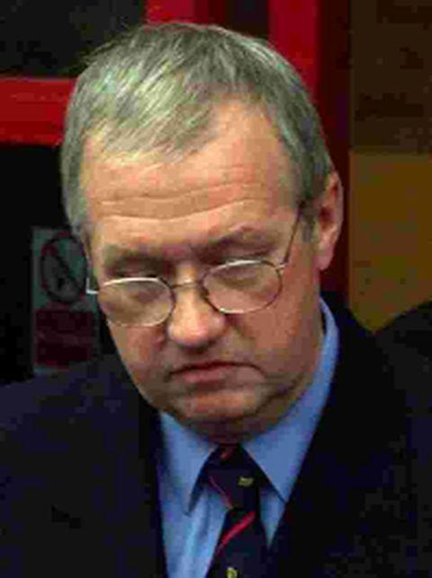 TRAGEDY: Former South Yorkshire Police Superintendent David Duckenfield, inset was in charge of the operation that fateful day