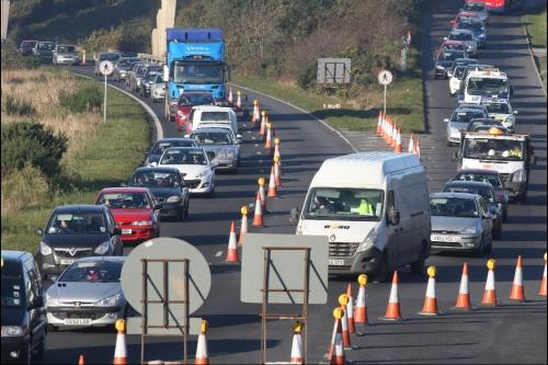 Drivers facing long delays as Sandbanks ferry refit collides with Upton bypass works