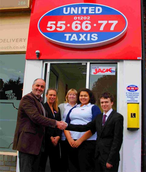 United Taxis open new office in Winton