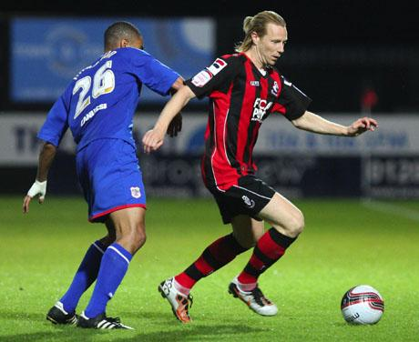 GAME TIME: Mark Molesley could go on loan