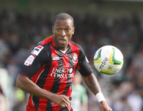 FRESH START: Wes Thomas is hoping to feature under Eddie Howe