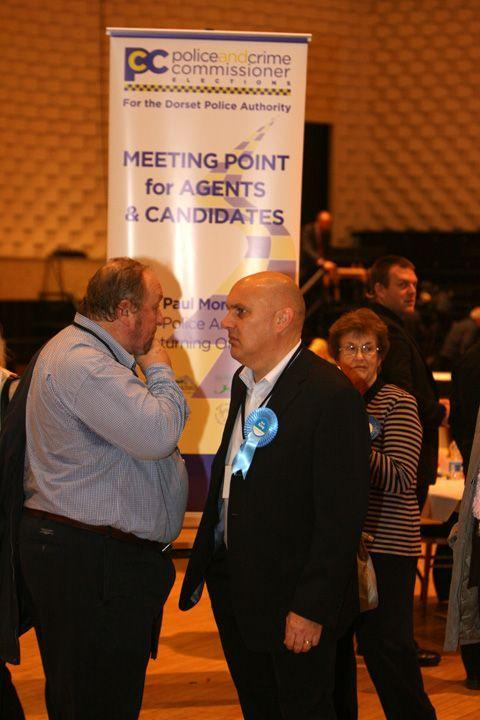 Bournemouth Echo: Tension in the Conservative camp at the Poole count
