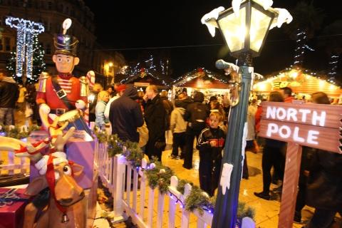 Thousands turn out for Christmas lights in Bournemouth
