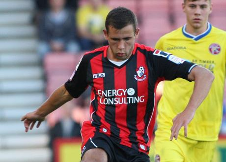 PLAY-OFF DREAM: AFC Bournemouth defender Steve Cook