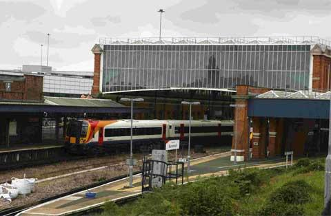 Fire near Bournemouth train station disrupting services