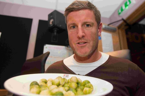 VIDEO: 100 sprouts in 10 minutes? All in a day's work for Big Fletch!