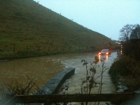 Drivers criticised as more rain threatens homes