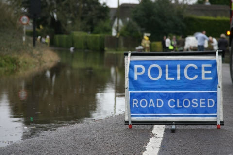 Residents battle floodwaters after road closed in Christchurch