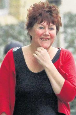 IN DEBT: Tracey Thompson at Bournemouth Crown Court. Picture: Sally Adams