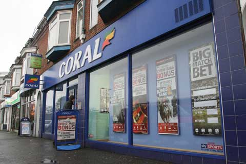 Attempted armed robbery at Coral bookmaker in Bournemouth