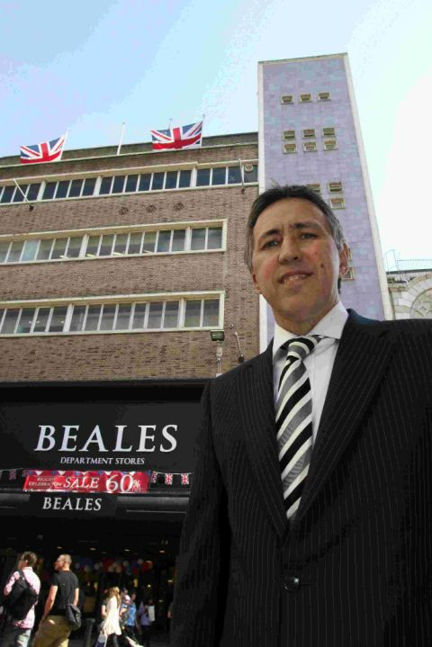 Tony Brown, Beales' chief executive officer has announced that around seven people will lose their jobs at the warehouse